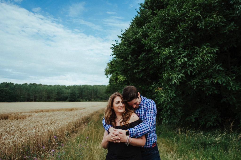 Suffolk Wedding Photographer - Engagement Shoot 001
