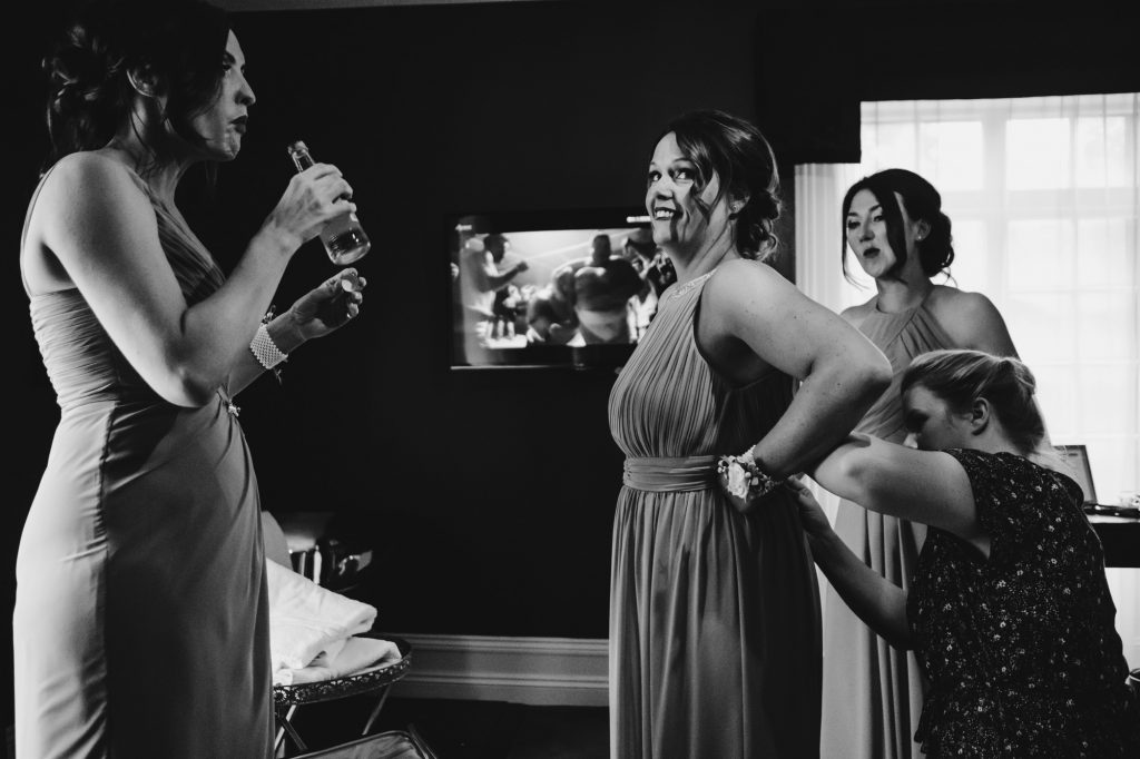 Swynford Manor Documentary Wedding Photographer