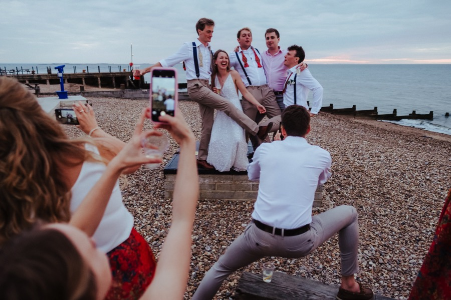 East Quay Wedding / Whitstable Wedding Photographer