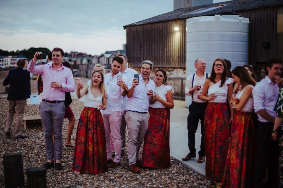 East Quay Wedding / Whitstable Wedding Photographer