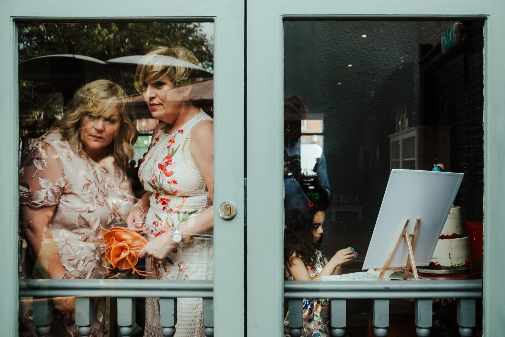 L'affaire Wedding